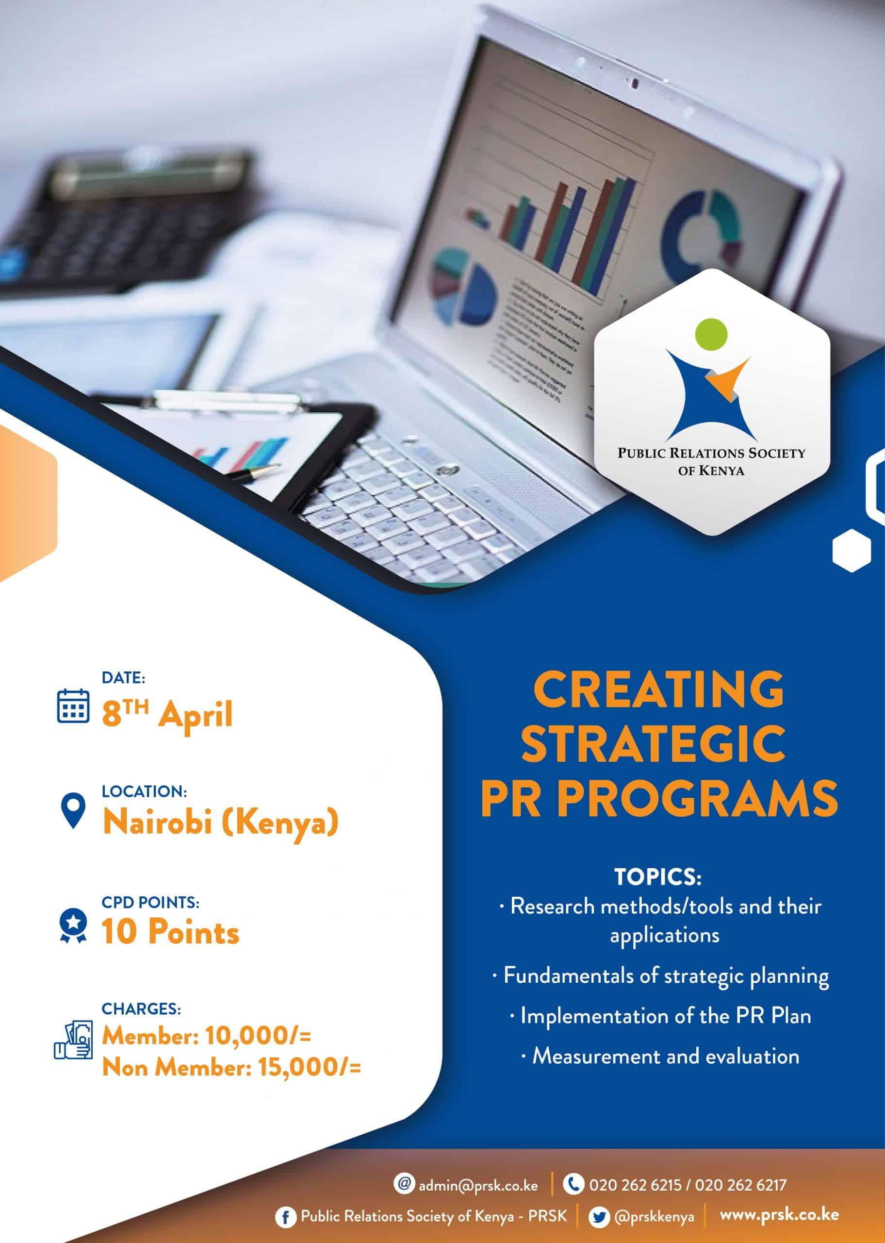 Creating Strategic PR Programs - Digital Poster